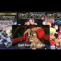 Anime Bemutatók Extra Gall Force Trilogy