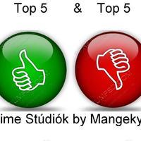 Top 5 Legjobb és Top 5 Legrosszabb Anime Stúdió by Mangekyo022