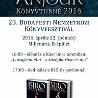 Anjouk a XXIII. Budapesti Nemzetközi Könyvfesztiválon