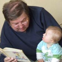 Amikor papa olvas....