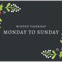 Monday to Sunday #27