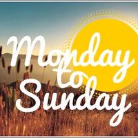 Monday to Sunday #39