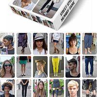 Street fashion memória játék