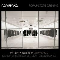 Nanushka Pop-up Store nyílik a belvárosban!
