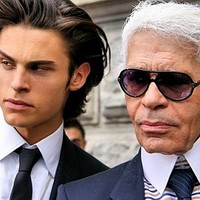 Karl Lagerfeld elveszi Baptisteot?