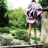 Chanel Iman a The Block magazinban