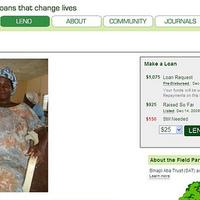 KIVA online mikro-hitel szegényeknek