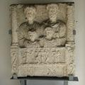 Római sírkő 3D modellje fotókból, 123D Catch segítségével.
