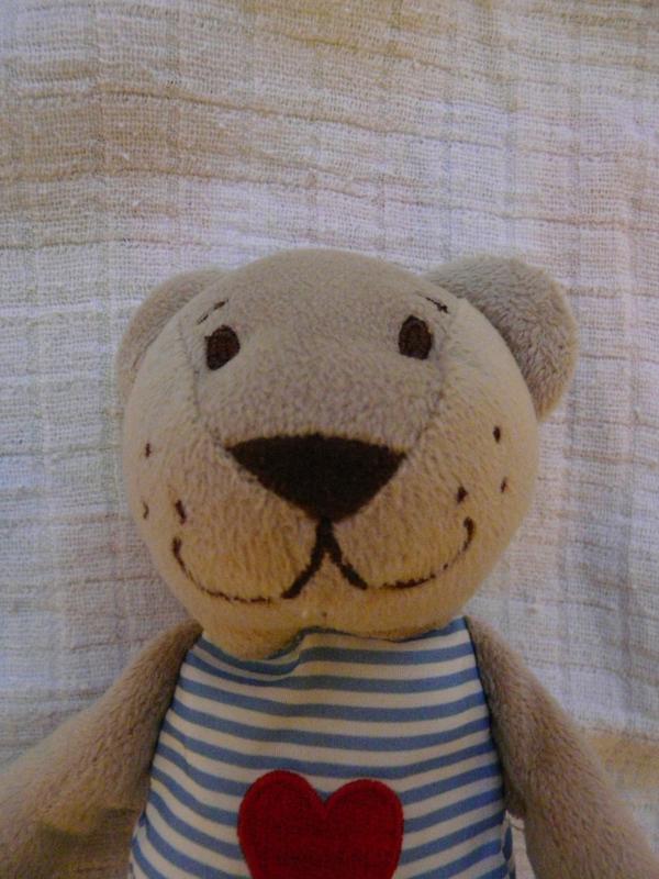Most már egyértelműen medvének látjuk, főleg, hogy Björn néven kapható az Ikeában. Amikor megkaptuk ajándékba, még nem volt egyértelmű, hogy macska, oroszlán vagy medve.