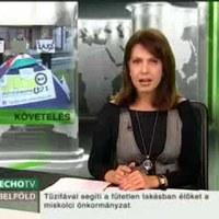 Sátrat vertek Bokros háza előtt (EchoTV)