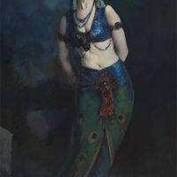 Hajdanvolt orientális táncosnők jelmezei II.