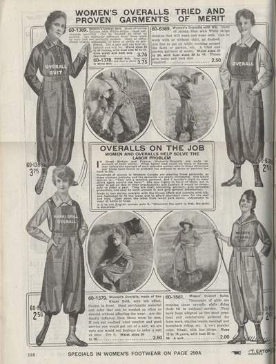 Háremnadrágok a Titanic érából Antique Fashion Company