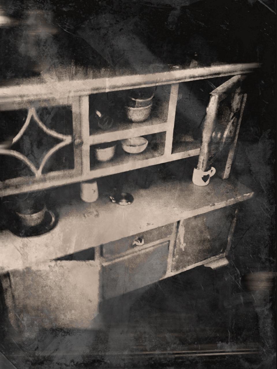 Baba konyhaszekrény egy keszthelyi kiállításról