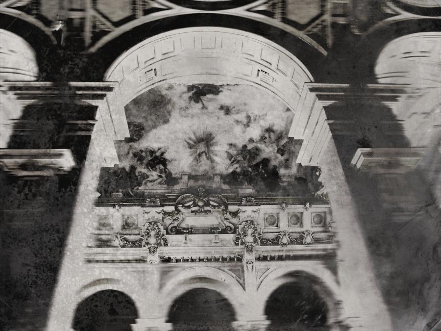 A Magyar Néprajzi Múzeum belső tere