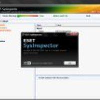 Bigyó felügyelő: ESET SysInspector
