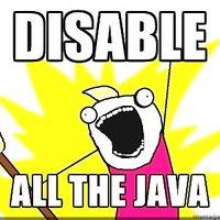 Java frissítés vagy mégsem