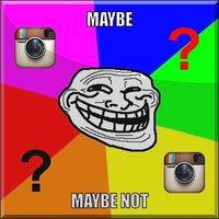 Instagram üzenet. Vagy mégsem?