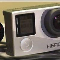 Extrém sport: kémkedő GoPro kamerák