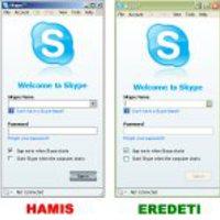 Üdv, itt a Skype jelszólopó...