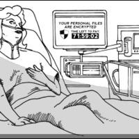 Kórház + ransomware = váltságdíj