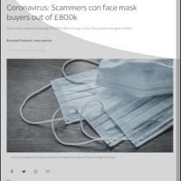 Koronavírus spamek, hoaxok, átverések