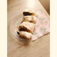 Hamvazószerdai ebédem: #falafel #durumlisztes #wrap-ban