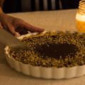 Ünnepi csokoládés pite