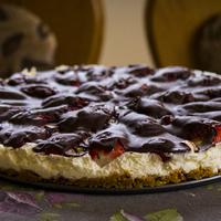 Csokoládés-mascarpone (szülinapi) torta