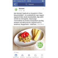 Az Abonett facebook oldalán is megtalàlható az avokàdó krémes receptem! ☺️ #abonett #avocado #anyakentisfitten #proudmommy