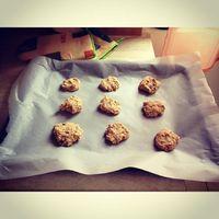 #whitagram #anyakentisfitten Sütésre kèszen a csokis kekszek, hàt persze, hogy alakbarát verzióban