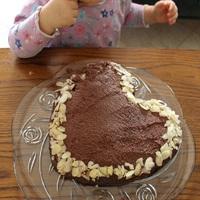 Csokoládés paleo torta