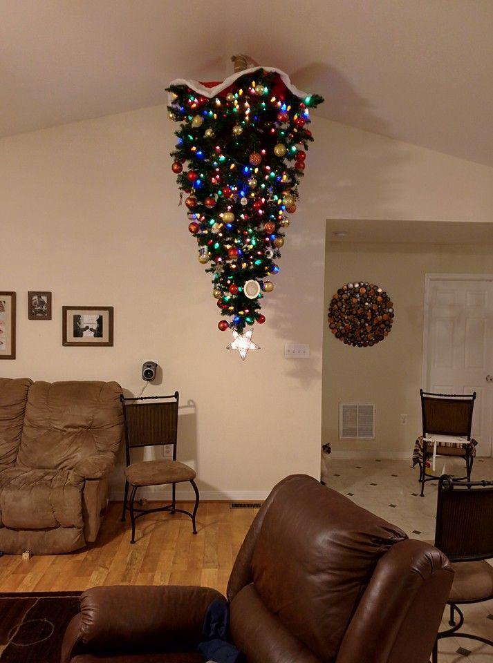 Karácsonykor minden a feje tetejére áll<br />Forrás: http://m.lolsnaps.com/index.html?id=151038