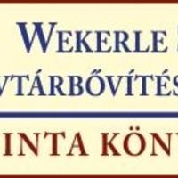 Wekerle Sándor V. könyvtári állománygyarapítási pályázat 2015.