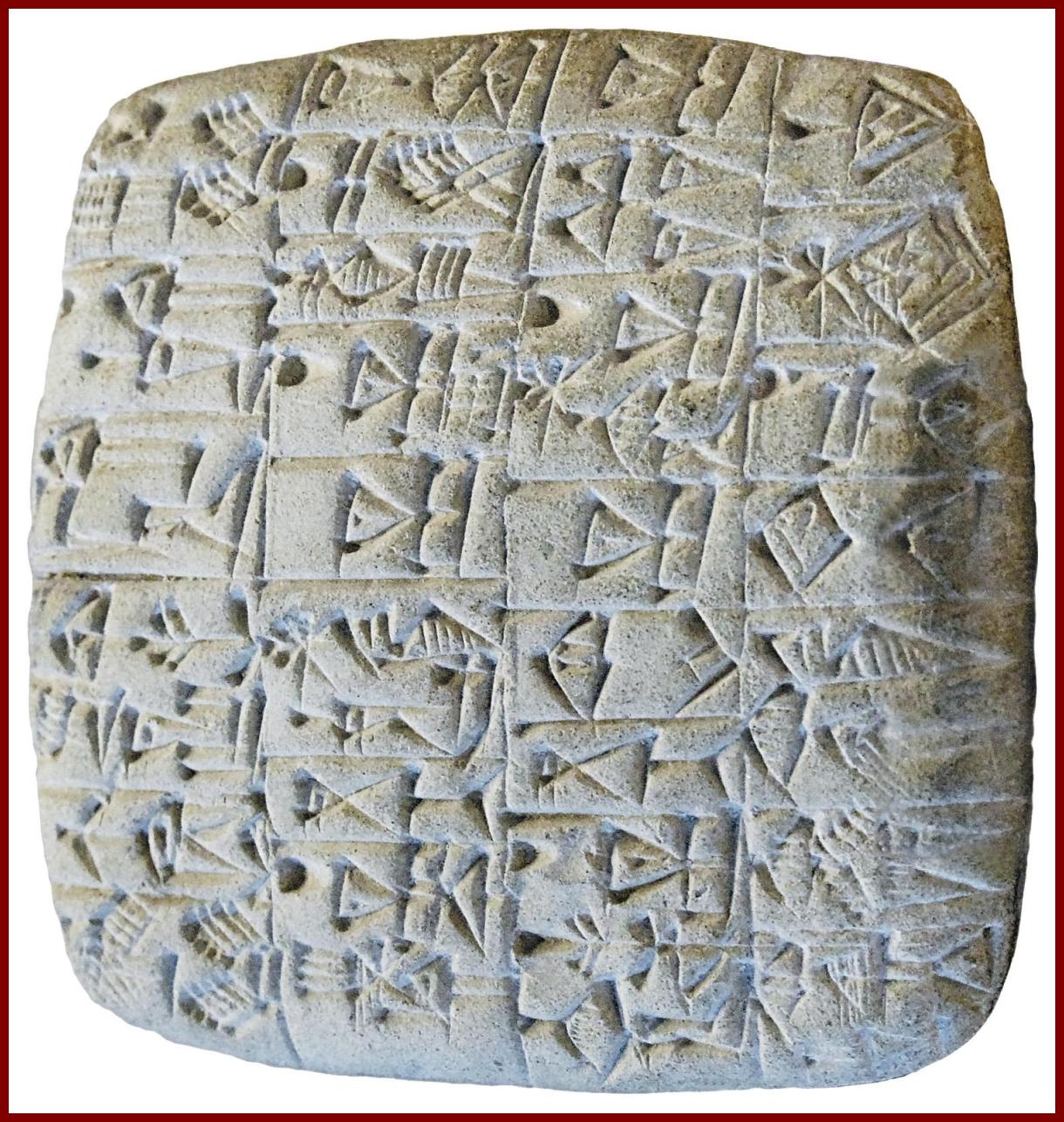 Íráshordozók az ókorban: agyagtábla I. [TINTA Könyvkiadó]