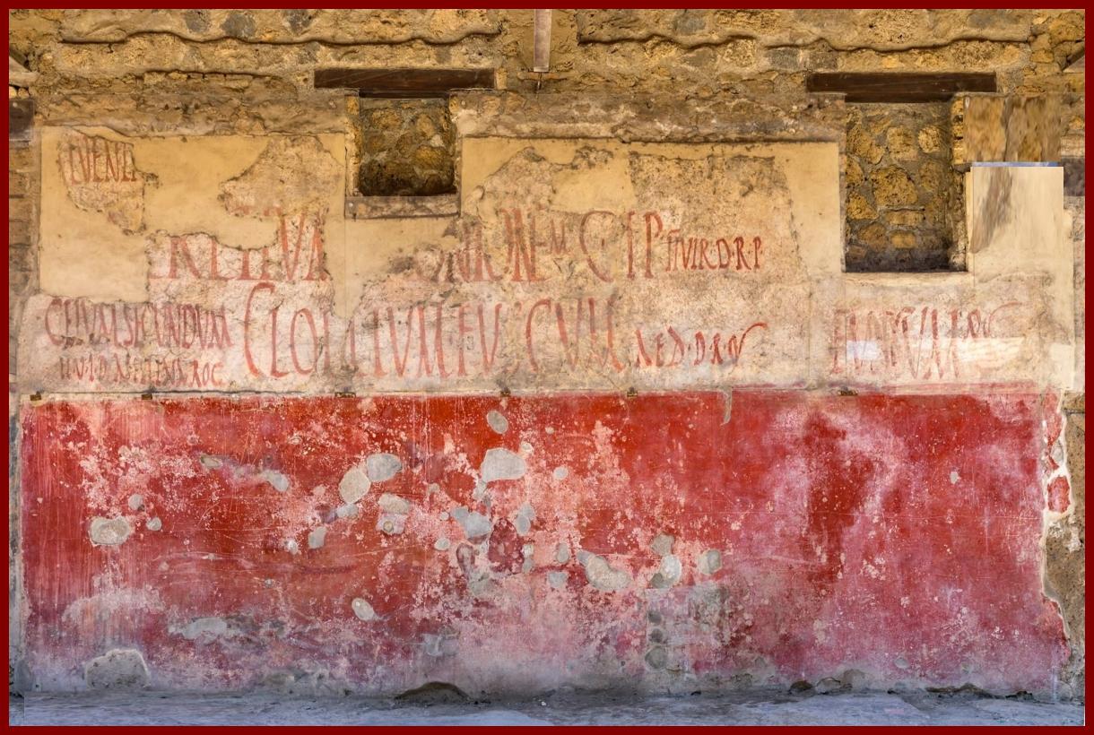 Íráshordozók az ókorban: fal, sgrafiti I. [TINTA Könyvkiadó]