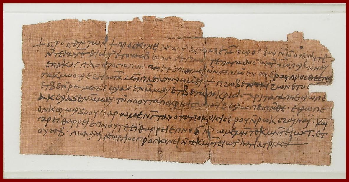 Íráshordozók az ókorban: papirusz I. [TINTA Könyvkiadó]