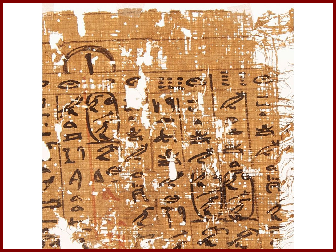 Íráshordozók az ókorban: papirusz III. [TINTA Könyvkiadó]