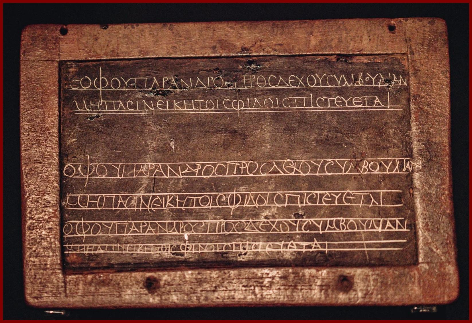 Íráshordozók az ókorban: viasztábla I. [TINTA Könyvkiadó]