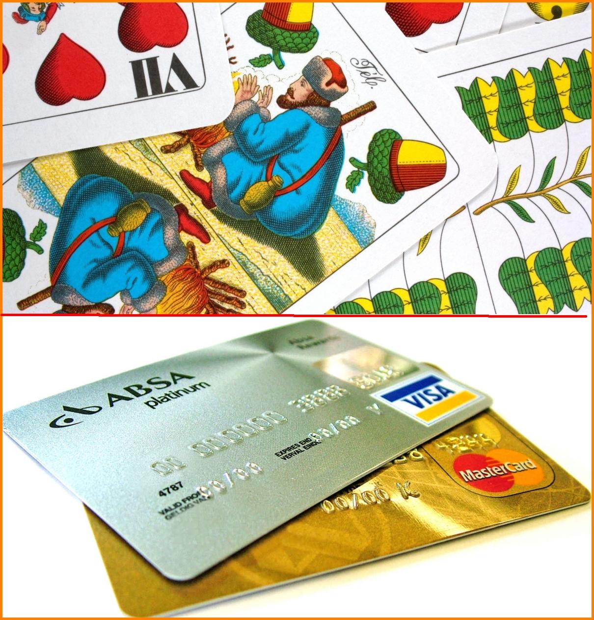 '...míg a kártya valamikor csak a zsugát jelentette, most már van bankkártya, telefonkártya, benzinkártya stb.'