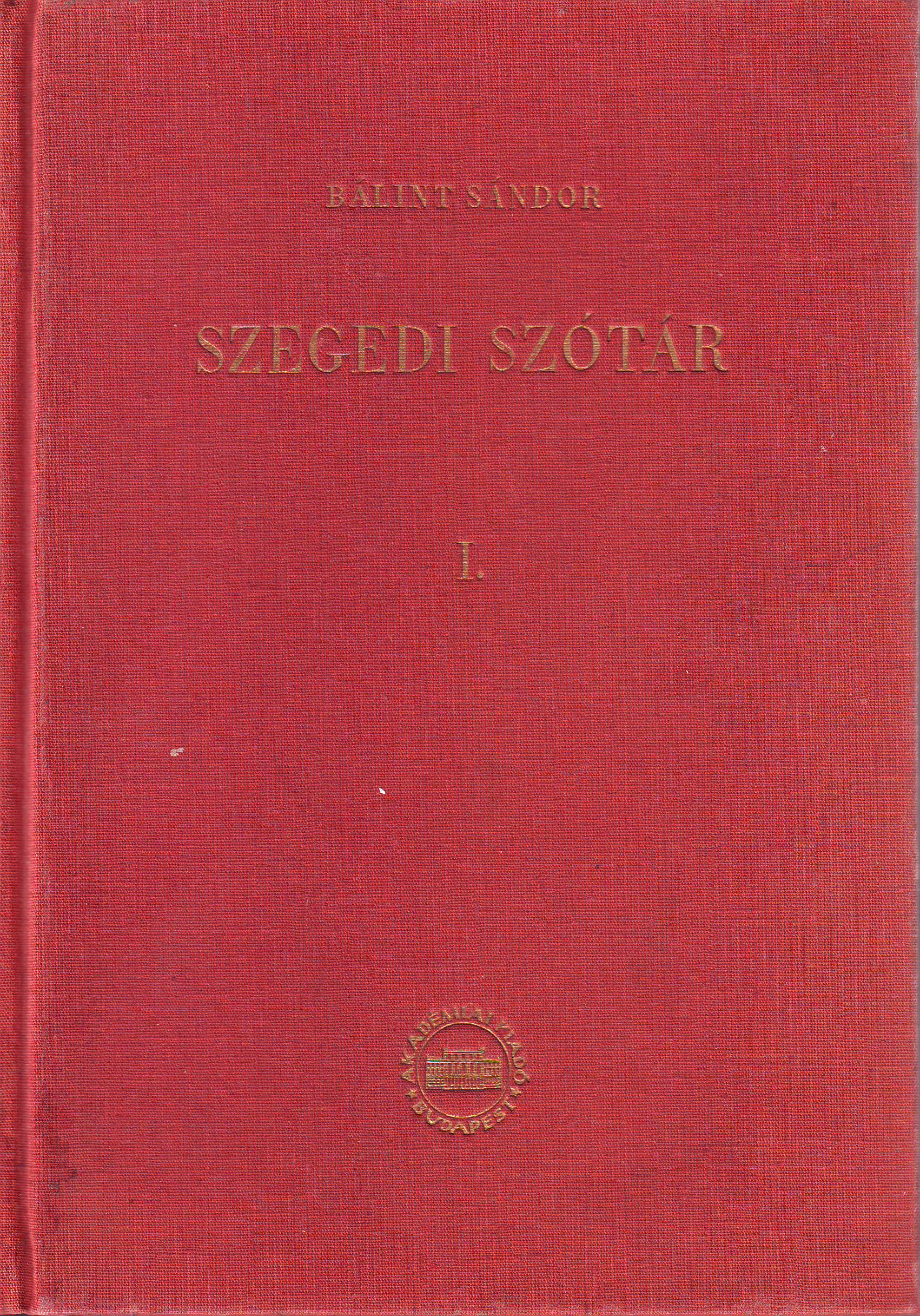 Szegedi szótár