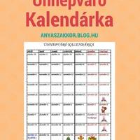 Letölthető Ünnepváró Kalendárka!