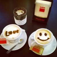 Love&smile - it's all what you need.Ohh,and coffee.Definitely coffee