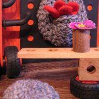 Horgolt szennyestartót a falra!/Crochet laundry basket