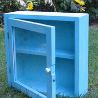 Az első shabby elegant stílusú szekrényünk/ Our first shabby elegant furniture