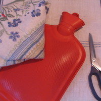 Melegítő vizes palack pulcsiban/ Recycling pullover