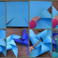 Készíts szélforgót!/ DIY pinwheels!
