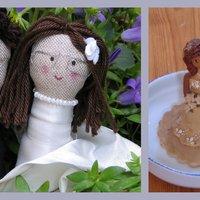Esküvői tortafigurák/Wedding caketopper