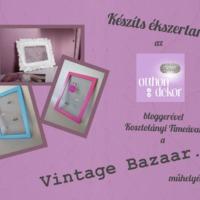 Workshop- Otthon és dekor bloggerével!!!!