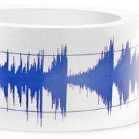 Ragasztószalag hanghullámból