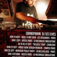 Bűnös Vasárnap >> Grandpamini turné indító